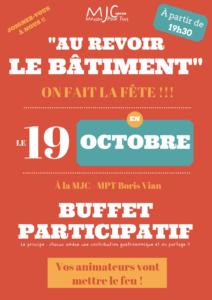 Fête 19 octobre à la MJC